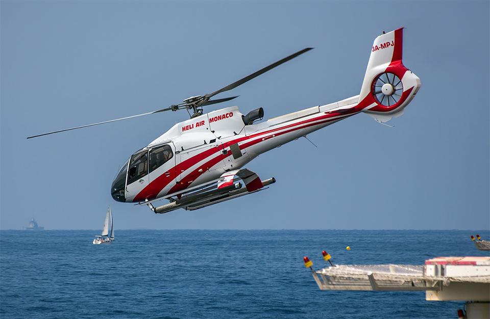 Helicopter, Nice to Monaco