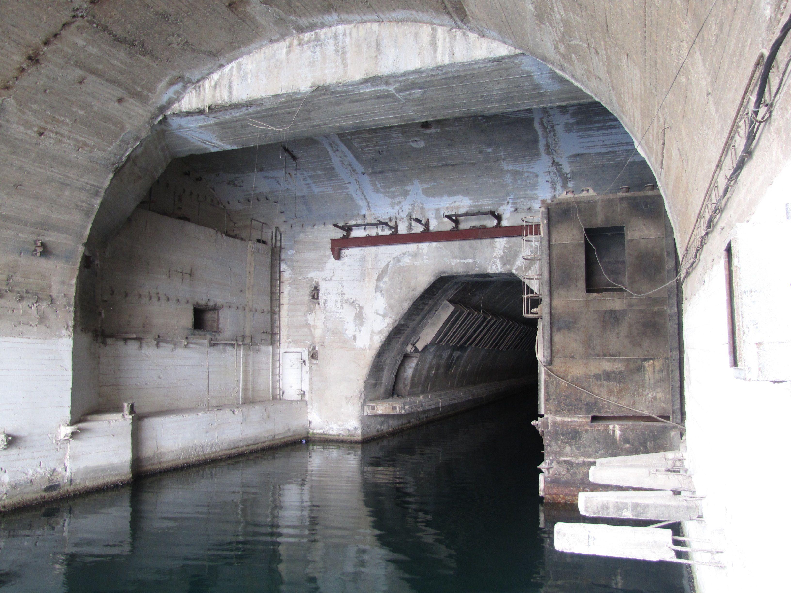 Submarine Base Entrance Balaclava, Crimea, Ukraine
