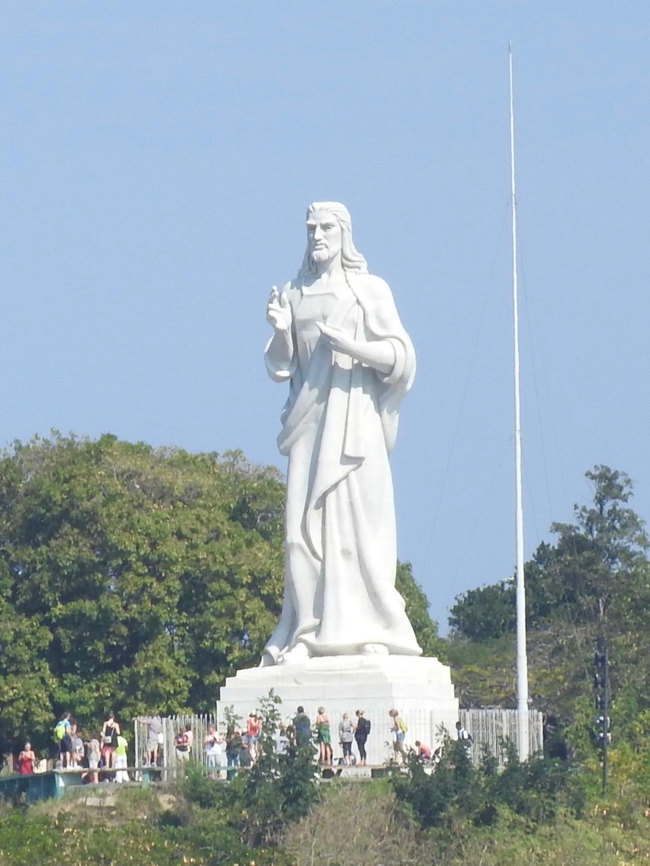 Christ Statue, Casablanca, Havana