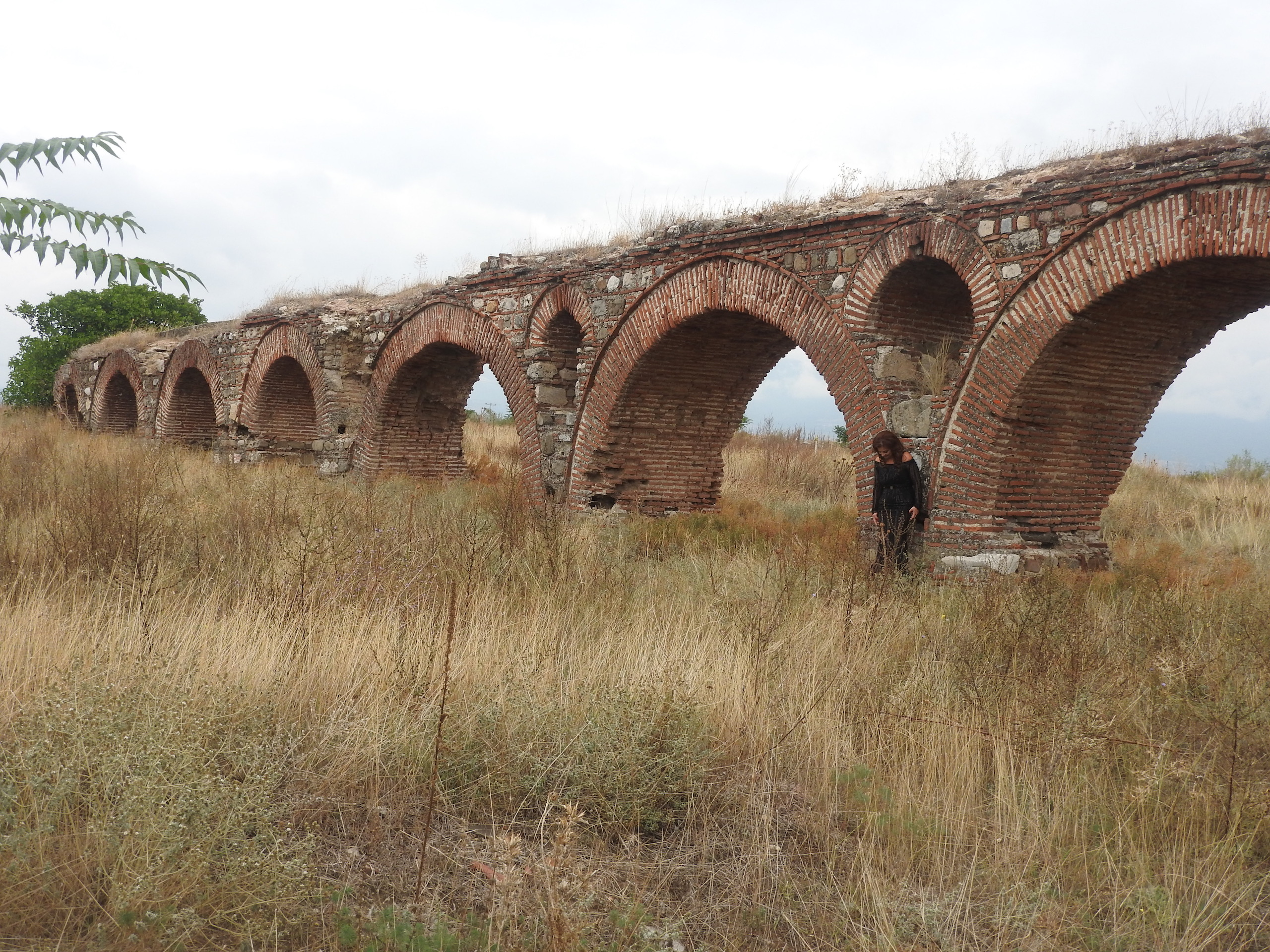 Roman Aqueduct, Skopje - Filming A Pop Video