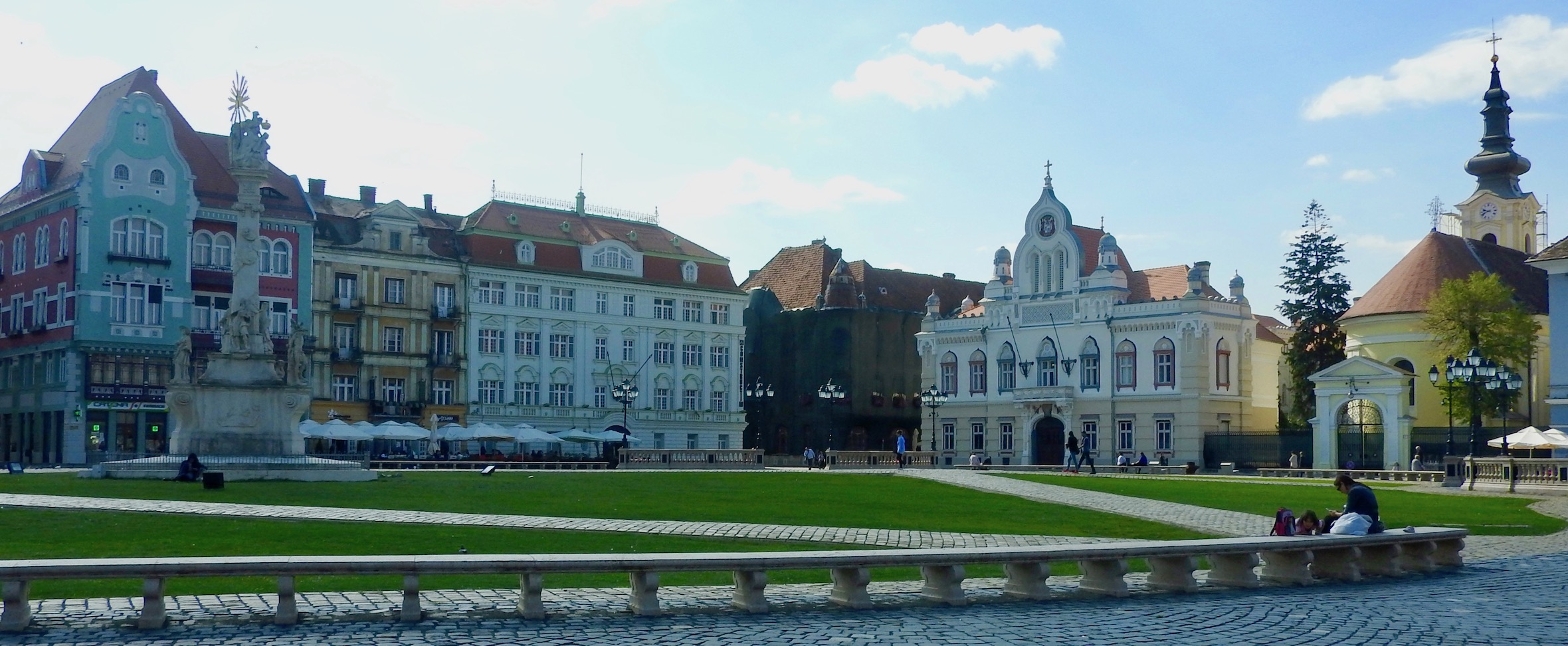 Unirii Square, Timișoara, Romania