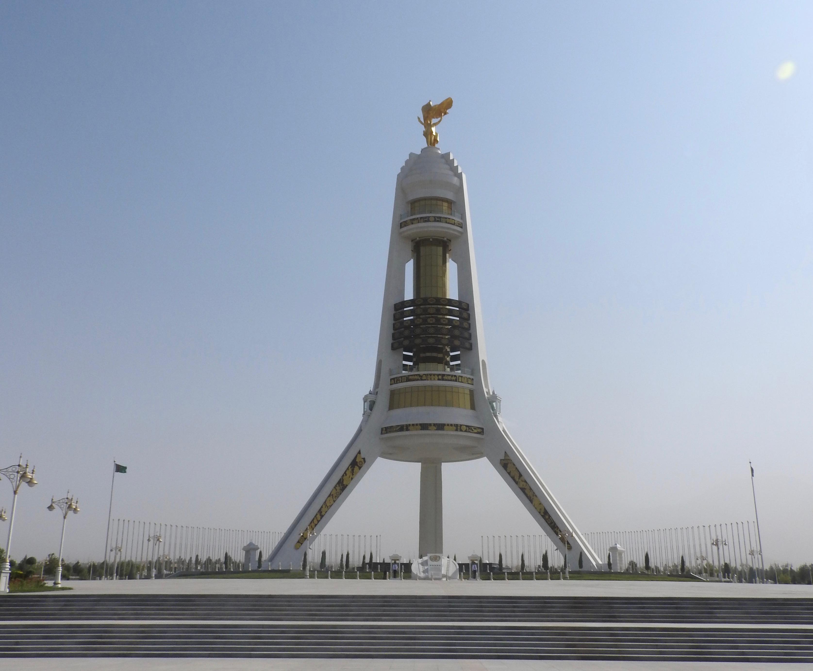 Ashgabat Neutrality Monument