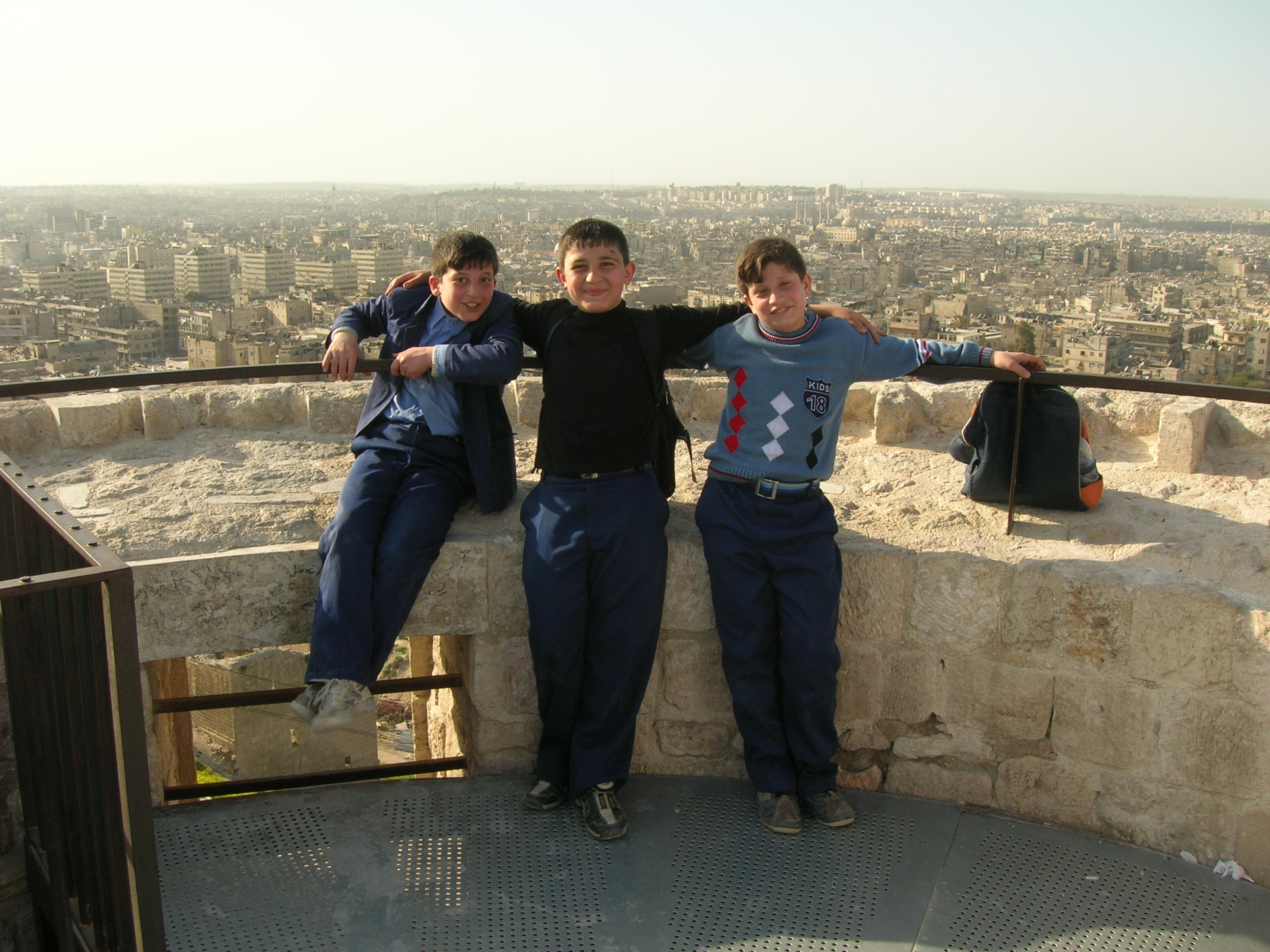Brothers-in-Arms, Aleppo Citadel, Syria