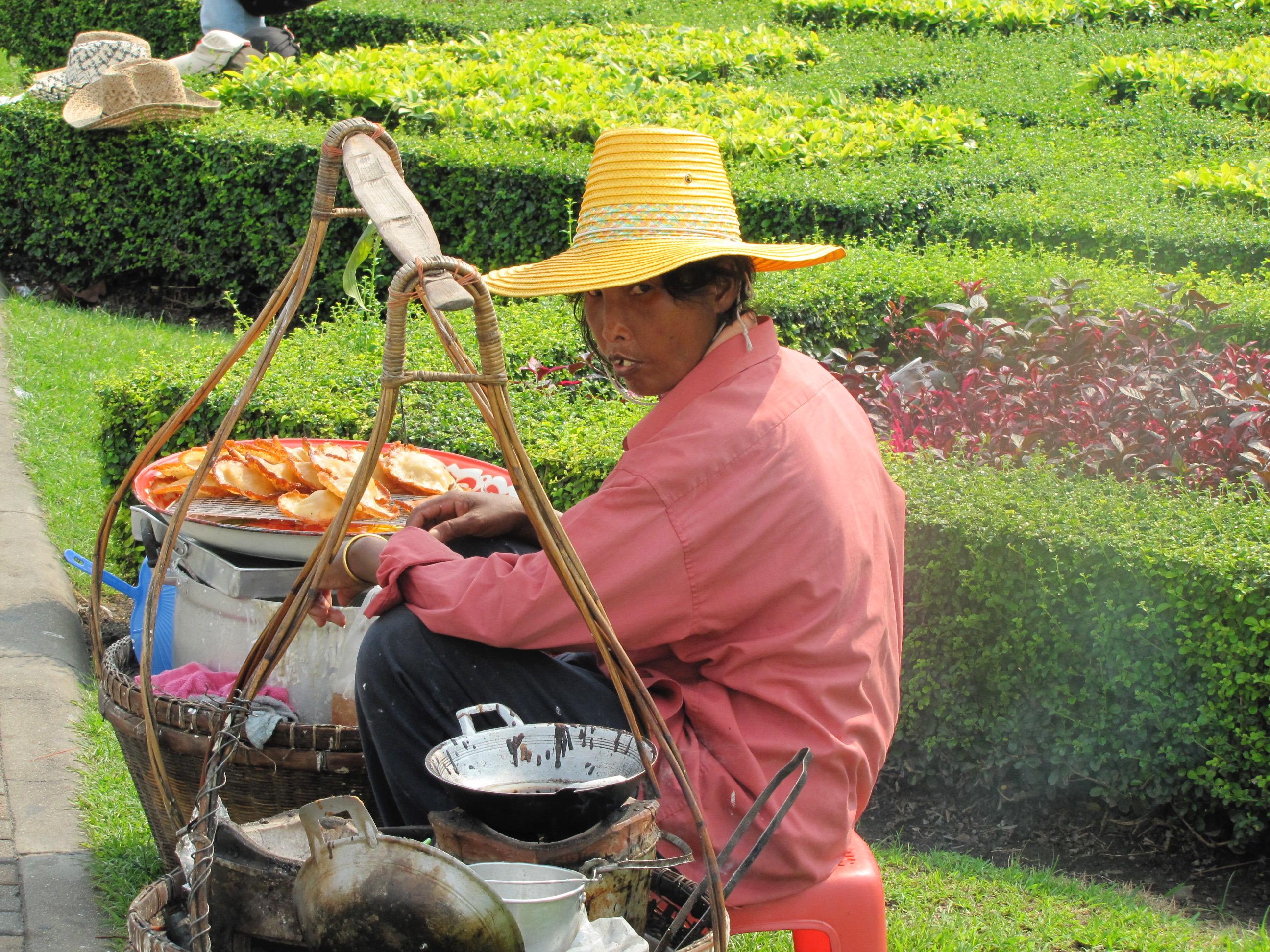 Street Food Vendor, Bangkok