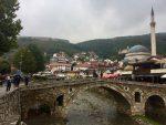 Stone Bridge & Prizren Mosque, Kosovo