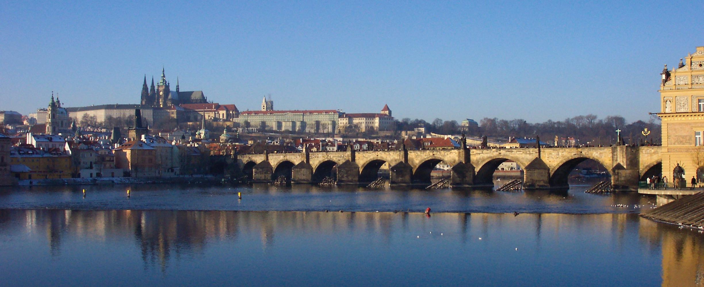 Charles Bridge & Prague Castle, October 2007