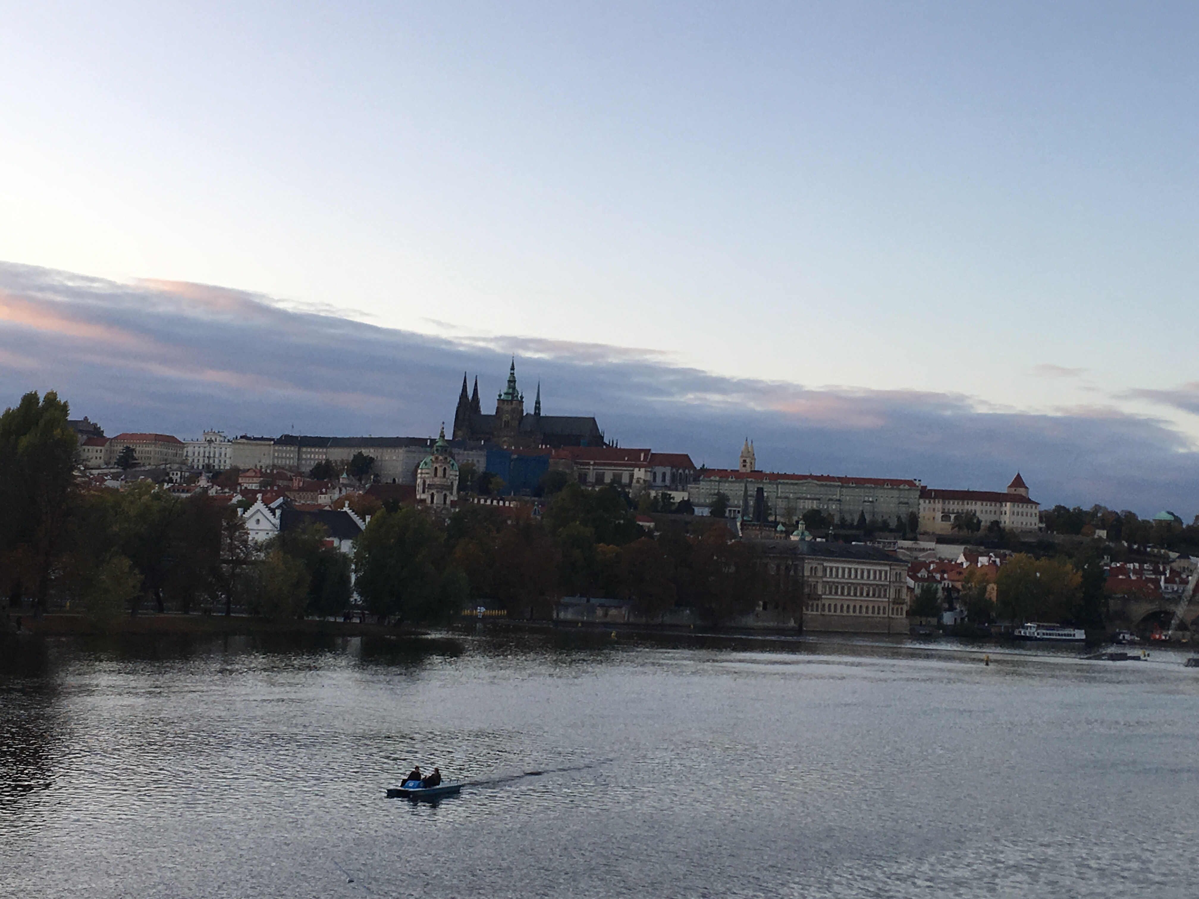 Prague Castle & River Vltava, October 2019
