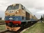 Locomotive, Sheki, Azerbaijan. Wilburstravels.com