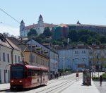 Bratislava Tram & Castle, Slovakia