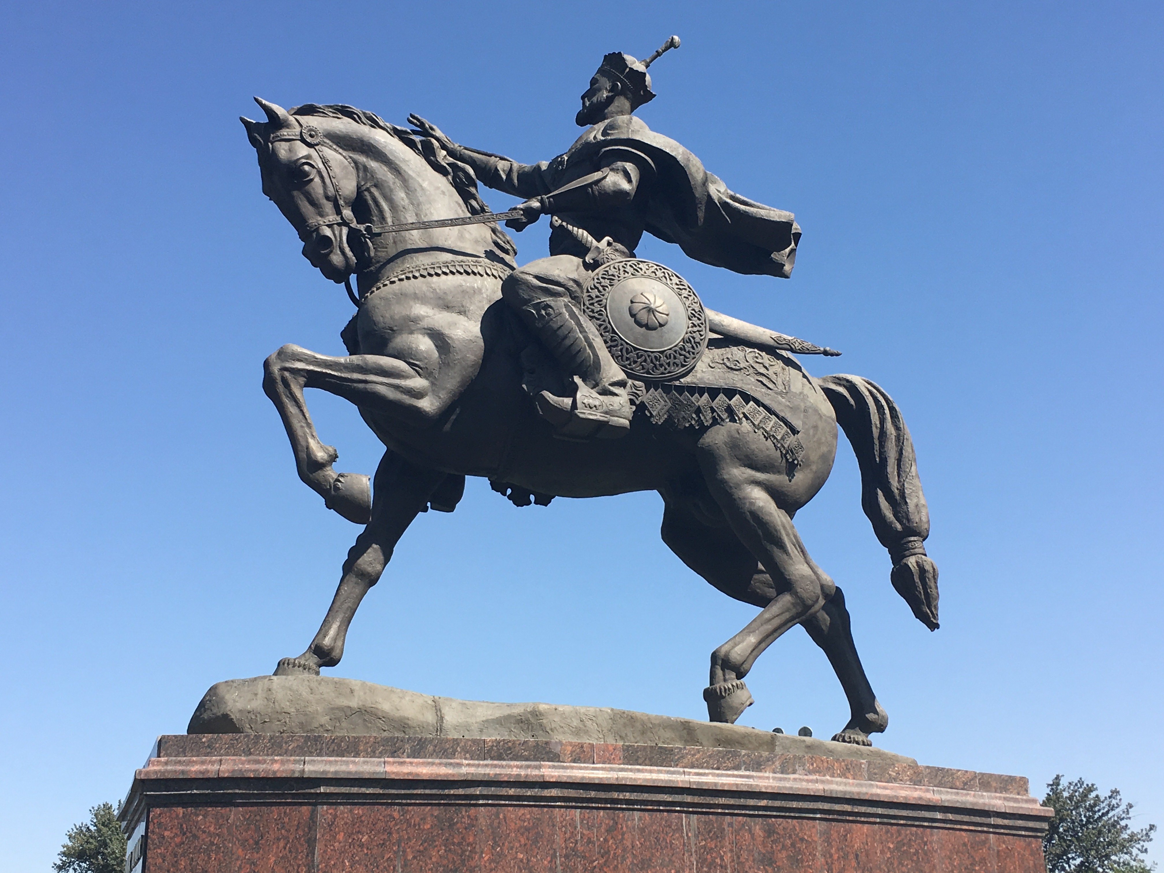 Timur Statue, Tashkent, Uzbekistan