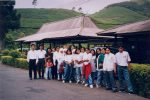 School Group, Guning Mas Tea Plantation, Java, Indonesia